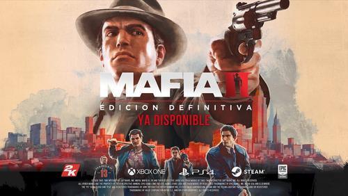 Mafia 2 Definitive Edition + Juego De Regalo - Pc - Digital