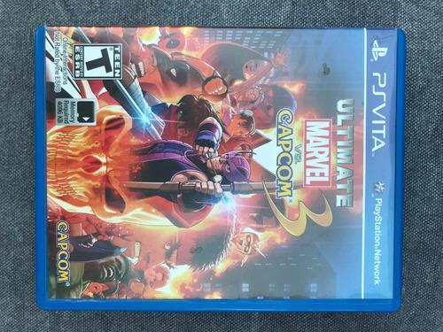 Ultimate Marvel Vs Capcom 3 - Ps Vita