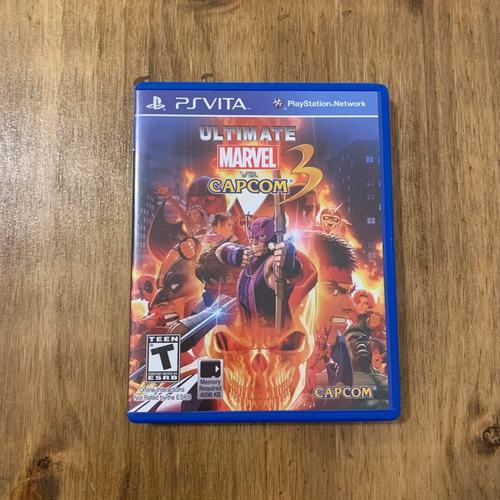 Ultimate Marvel Vs Capcom 3 Ps Vita Físico Original
