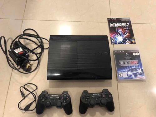 Consola Playstation 3 500gb +2 Controles Dualshock +2 Juegos