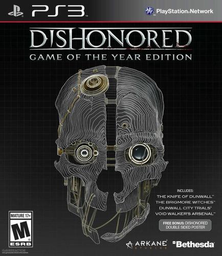 Dishonored G. O. T. Y Español + Extras | Ps3 | Tenelo Hoy