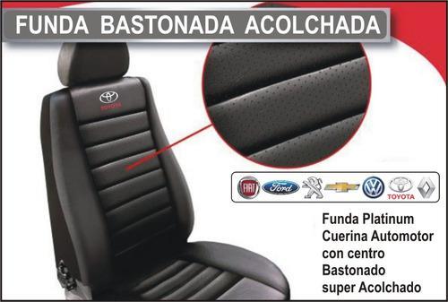 Funda Para Toyota Hilux 2019 C/doble Bastonada Acolchada