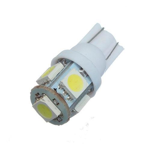 Lampara Led T10 W5w 5 Led Lampara Luz De Posicion 6000k 12v