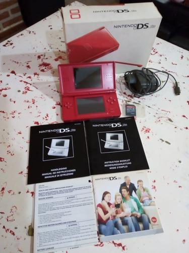 Nintendo Ds Lite Completo!! Impecable
