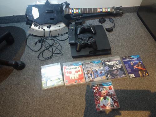 Play Station 3 Ps3 320gb + Accesorios Y Juegos