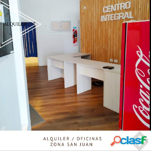 Alquiler oficinas zona San Juan