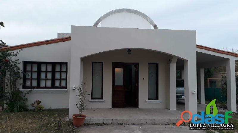 Casa 3 Dor. Jardín B° Cerrado Solares de San Alfonso Villa