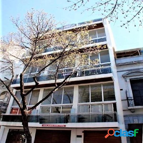 Departamento 2 ambientes tipo loft con balcon terraza y