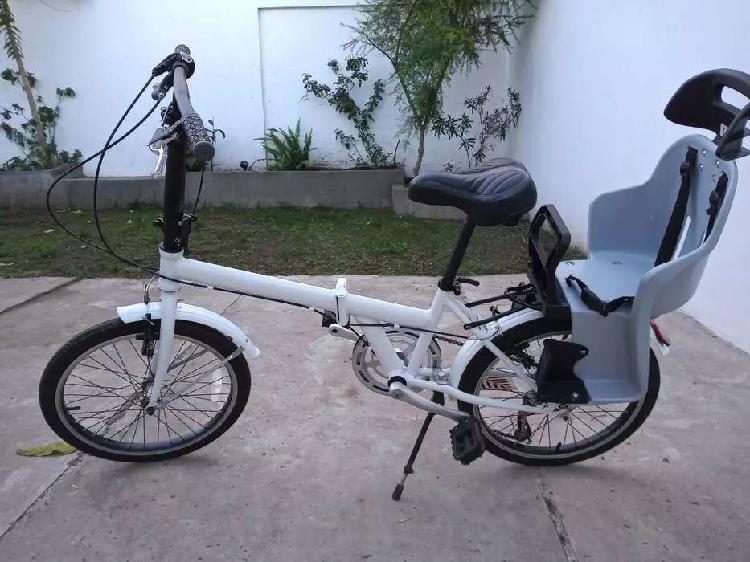 Bicicleta Plegable Halley - Rodado 20