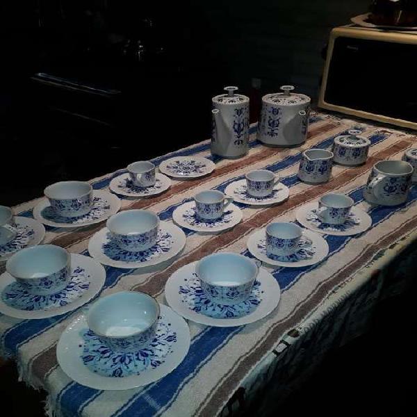 Juego de Porcelana Tsuji. Te Y Cafe