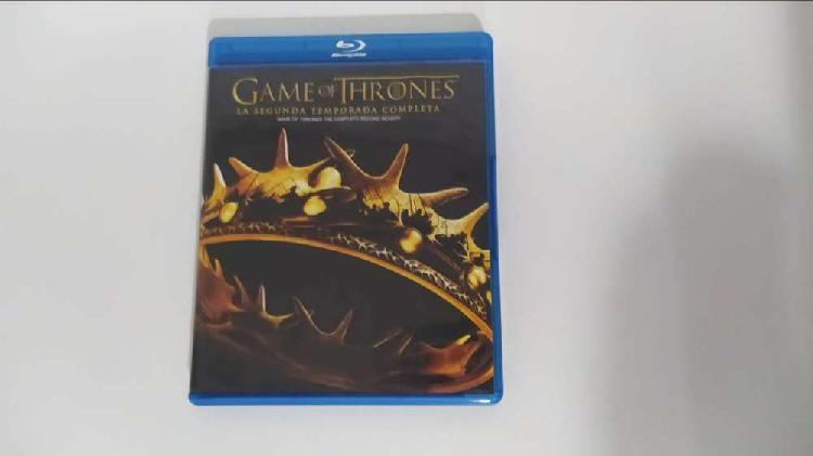 Serie GAME OF THRONES (Primera y Segunda temporada) Blue-ray