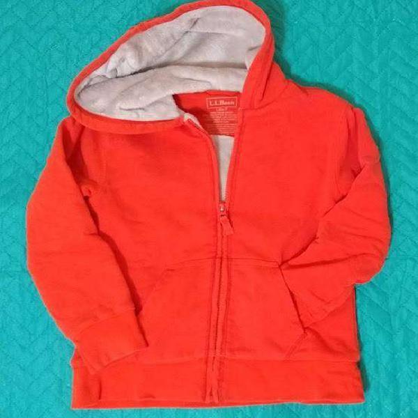 Campera niño de algodón con abrigo