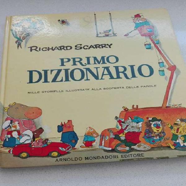 Diccionario Italiano Para Niños Primo Dizionario Un Lujo!!