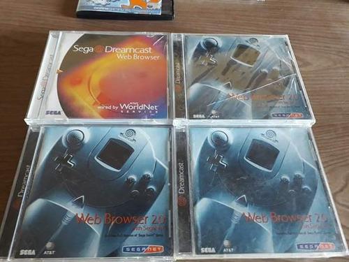 Sega Web Browser Dreamcast Fisico Precio Por Unidad Cap Fed