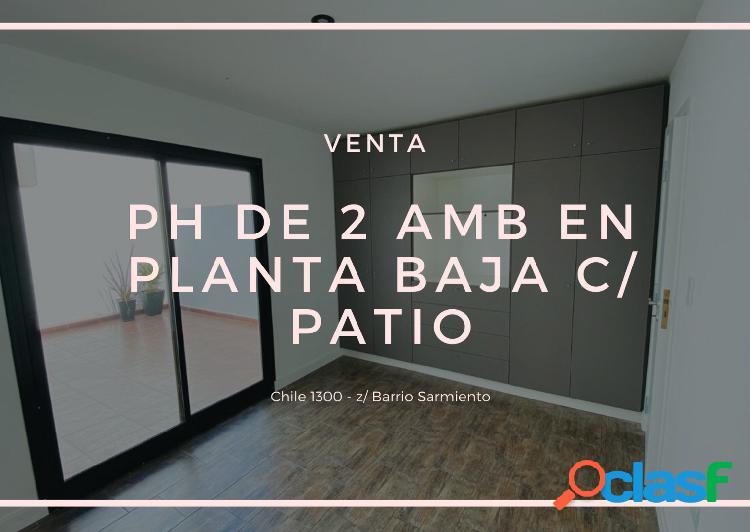 NUEVO VALOR!!HERMOSOS PH 2 AMB EN PLANTA BAJA C/ PATIO