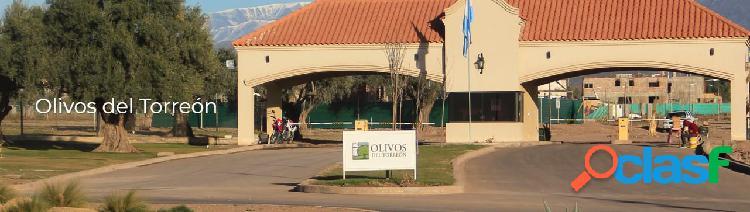 Venta terreno barrio privado Olivos del Torreon