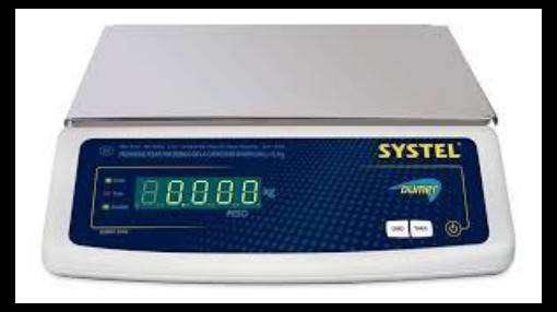 BALANZA ELECTRONICA SYSTEL MODELO BUMER - SOLAMENTE PESA