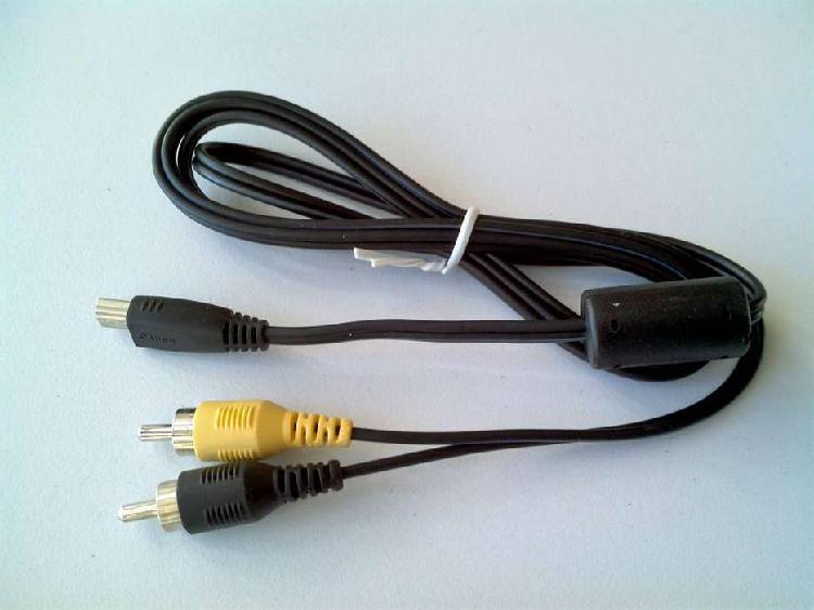 Cable Cámara Canon Mini Usb A Rca Audio Y Video