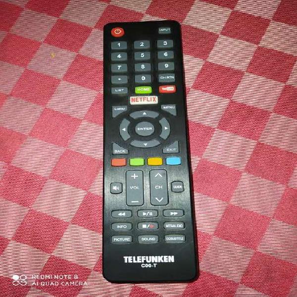 Control remoto original Telefunken smart