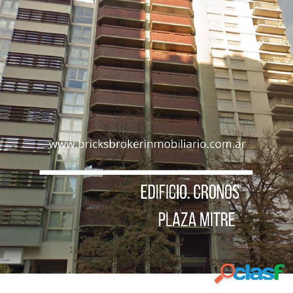 Edificio cronos Plaza Mitre 3 amb+ dependencia, balcon