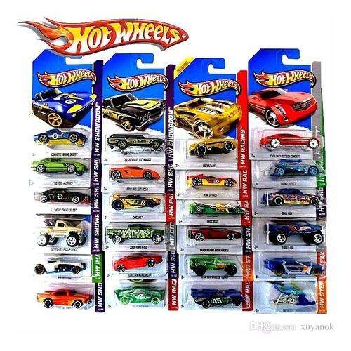 Hot Wheels Combo Autitos X 10 Unidades Original Mattel 1:64
