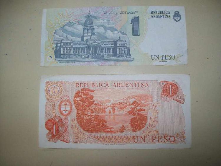 Lote de 8 billetes argentinos en muy buen estado