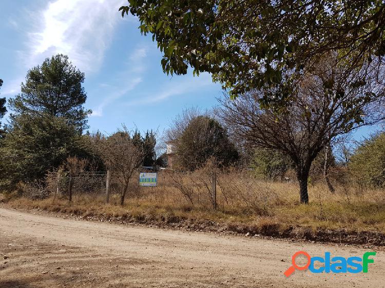 Terrenvo en venta en Villa General Belgrano - Barrio Egloff