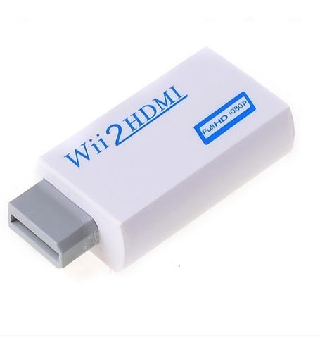 Adaptador Wii A Hdmi 720p/p Conectala Wii Por Cable