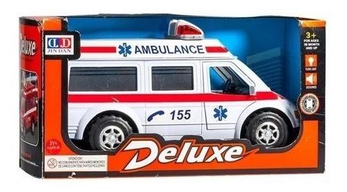 Ambulancia A Pila Con Luz, Sonido Y Movimiento En Magimundo!