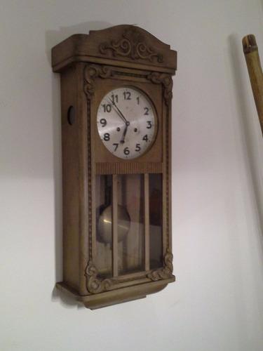 Antiguo Reloj Junghans A Pendulo Con Soneria (no Envio)