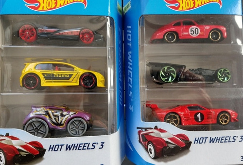 Autitos Hot Wheels Pack X3 Unid. Originales Mattel (almagro)