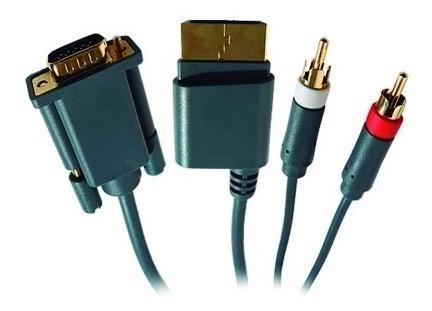 Cable Xbox 360 Vga p + Audio Optico Digital + 2 Rca