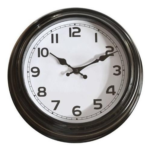 Reloj De Pared Vintage Estación Tren Antiguo 30 Cms New