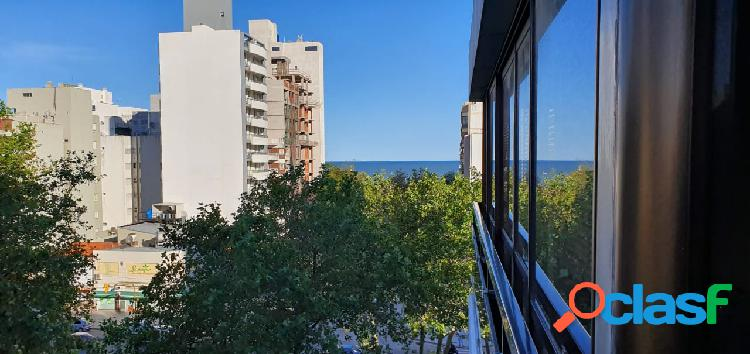 Venta Semipiso de dos ambientes a la calle con balcón