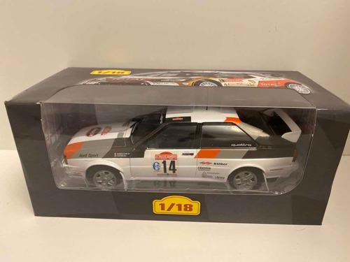 Coleccion 1/18 Miniaturas Coche De Rally España Audi