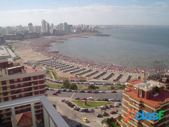 Departamento de 3 ambientes - vista al mar - Viamonte y