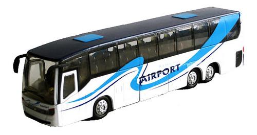Micro Colectivo Bus Teamsterz Abre Puerta 18cm  Bigshop