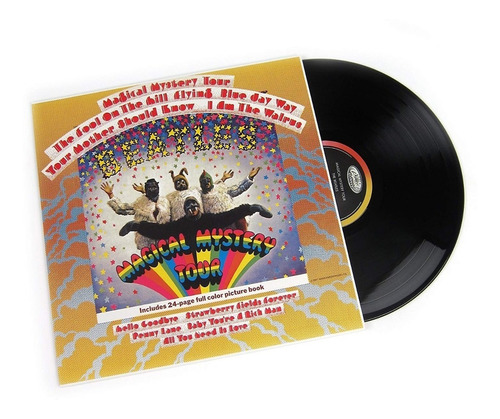 The Beatles Magical Mistery Tour Vinilo Lp Libro Nuevo Stock