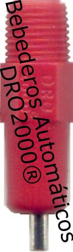Bebedero Automático Rojo Gallinas Pollos Pack 10