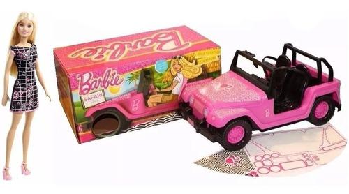 Jeep Auto Barbie Con Muñeca Combo Original Mattel Tv Lelab