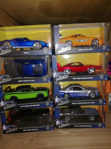 19 Autos Colección Rápidos Y Furiosos...