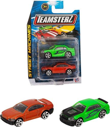 Auto De Colección De Metal X2u Teamsterz Street Autos 1:64