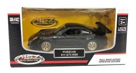 Auto De Coleccion Porsche 911 Gt3 Rsr 1:38 Msz
