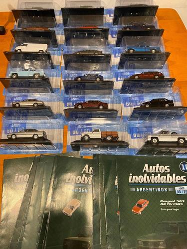 Autos Inolvidables Argentinos  Con Revista Nuevos