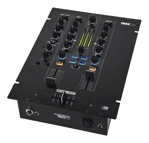 Consola Mixer Dj Profesional 2 Canales Reloop Rmx 22i