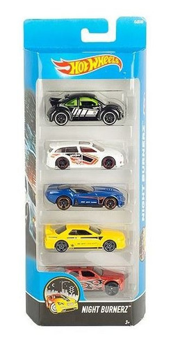 Hot Wheels Autos Set X 5 Unidades Original Mattel 1:64