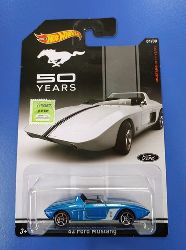 Hot Wheels Ford Mustang ' Aniversario Original