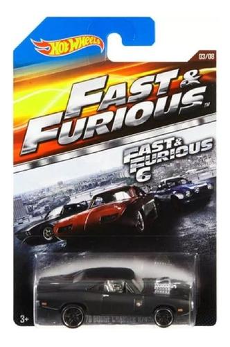 Hot Wheels Rapido Furioso Dodge Charger Toretto Solo Envios