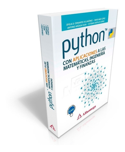 Libro Python Con Aplicaciones A Las Matemáticas,