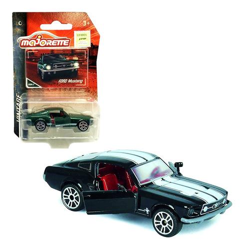 Majorette Auto Vintage Coleccion Mustang 1/64 Mundo Mjt